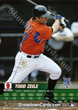 MLB Showdown 2004 Trading Deadline #5 Todd Zeile of the New York Mets